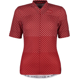 Maloja CostettaM. Bike Jersey Shortsleeve Women red